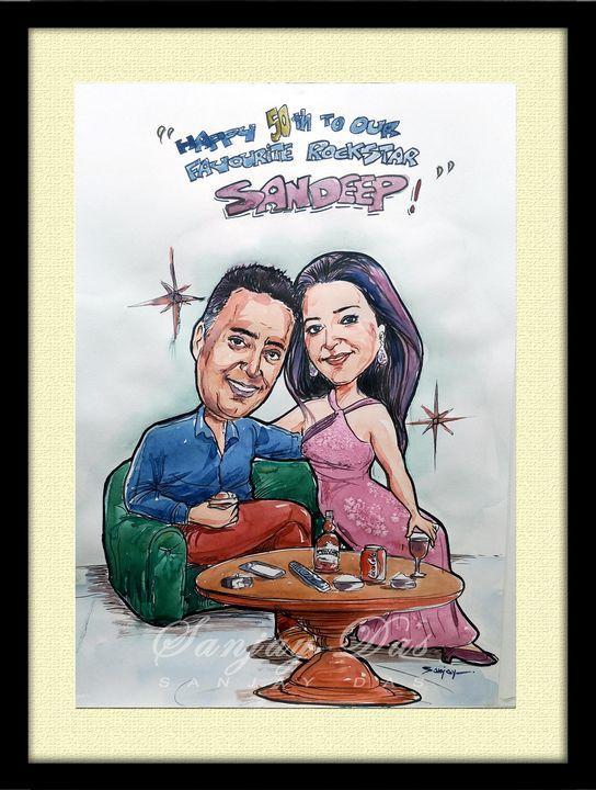 Hobby Caricature - SANJAY DAS