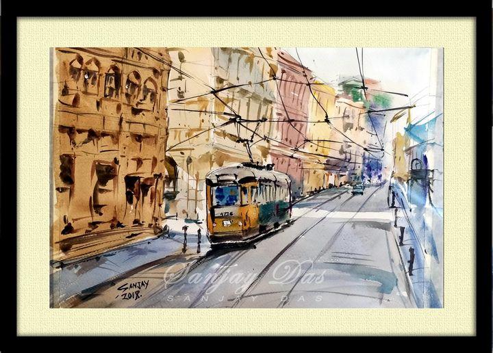 street trams in spain - SANJAY DAS