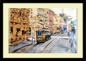 street trams in spain