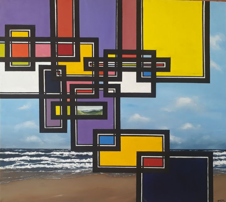 Sea and Abstraction With Color - Ahadul Hasan
