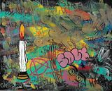"Original Painting ""overthinking"""