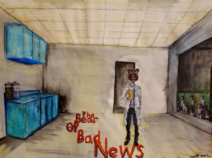 The Bear of Bad News - Grant Flowers