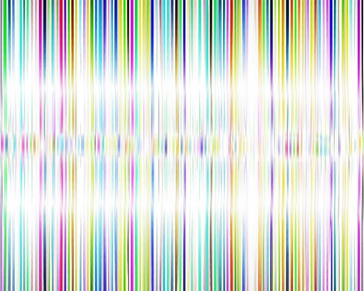 Digital Color Light Wave - UzArt - Abstract Photoshop Art