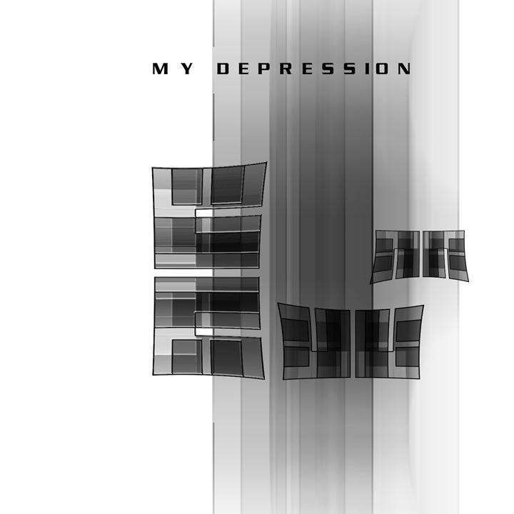 My Depression - UzArt - Abstract Photoshop Art