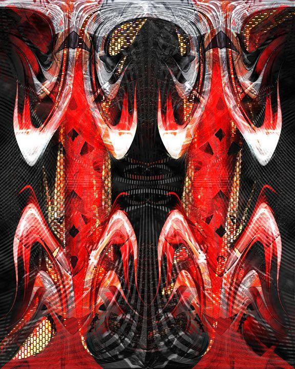 5000TRYONE bLACK dEMON Lava Lamp - UzArt - Abstract Photoshop Art