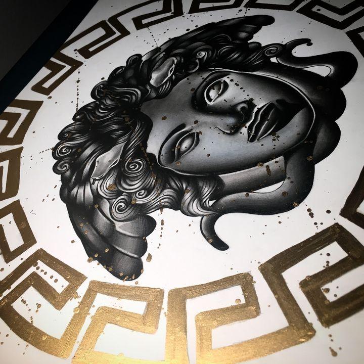 Versace Medusa - zsartwork