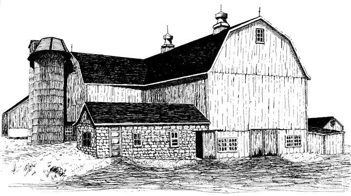 Chester County Pennsylvania Barn - Barry Coulton