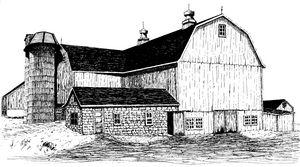 Chester County Pennsylvania Barn