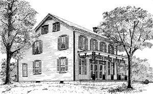 Chester County Farm House