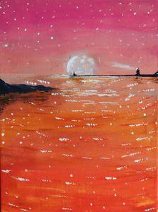 Pink Night by Nijaoui Wassim