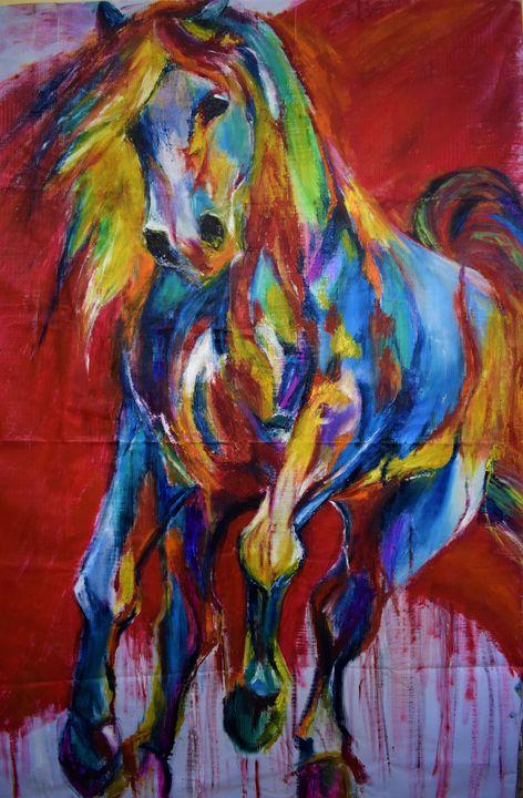 The Wild Horse - Shrutam art gallery