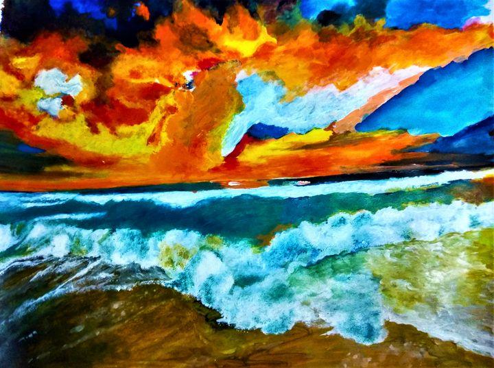 Sunset - Shrutam art gallery
