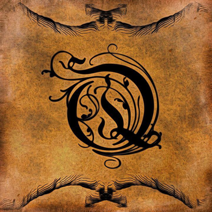 Beautiful Monogram Letter Q - Calligraphy