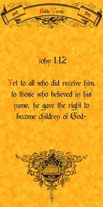 Bible Verse John 1:12