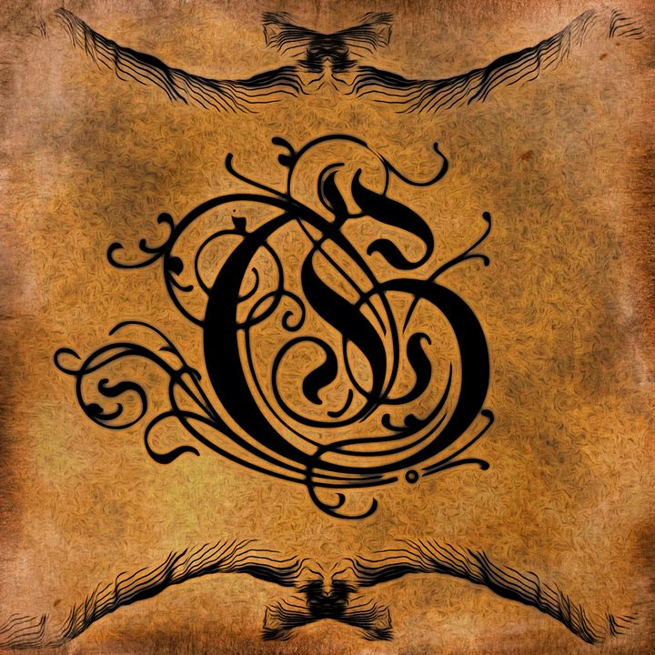 Beautiful Monogram Letter G - Calligraphy