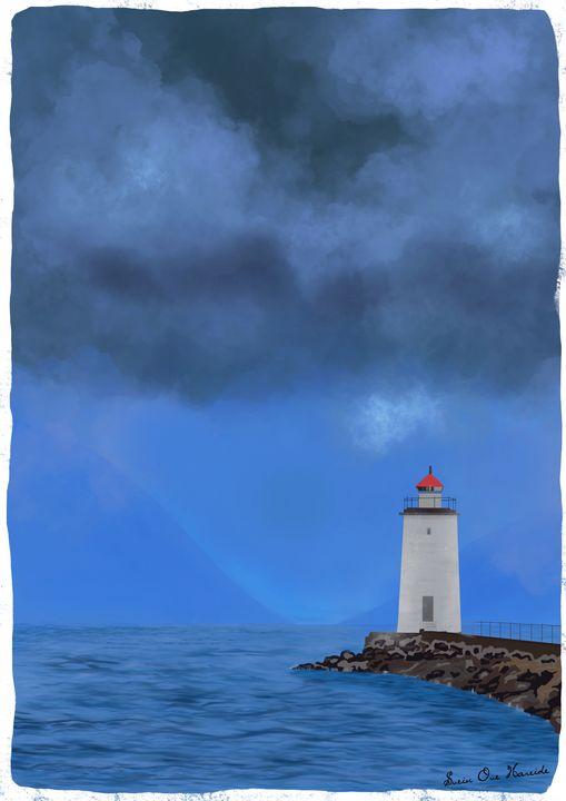 The lighthouse - HareideArt
