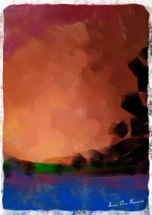 The sunset - HareideArt