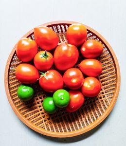Tomato photo art