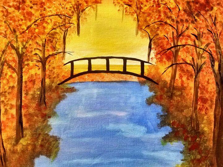 little fall bridge - Laura Lea Rushing