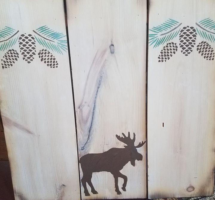 Moose Sign - Laura Lea Rushing