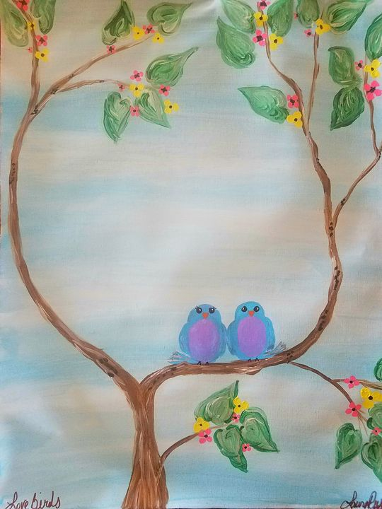 love birds - Laura Lea Rushing