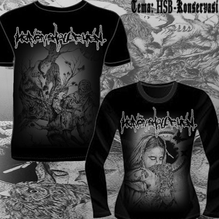 Heaven Shall Burn T-Shirt - Stunning Random Art