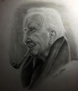 Portrait of J.R. Tokien