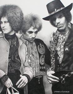 The Jimi Hendrix Experience - Martina Lomas