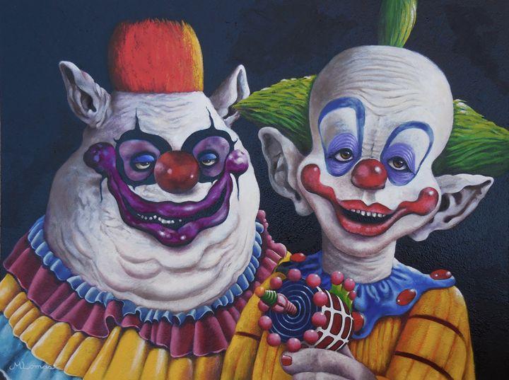 Killer Klowns - Martina Lomas