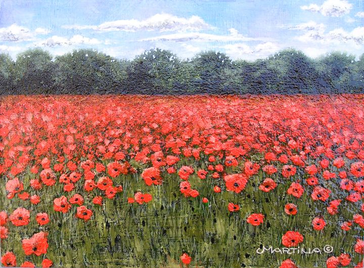 Poppies - Martina Lomas