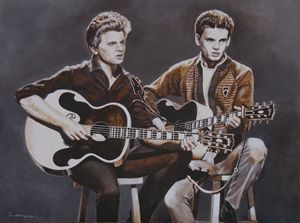 The Everly Brothers - Martina Lomas