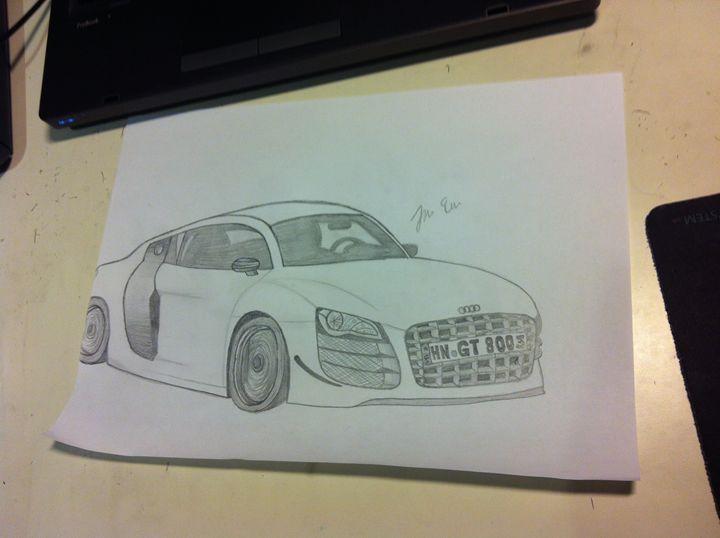 Audi R8 - Julia Chaas Art