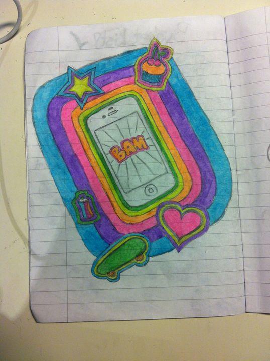 iPhone Sketch - Julia Chaas Art