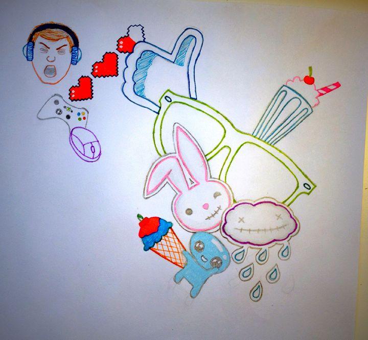 Random Sketch - Julia Chaas Art