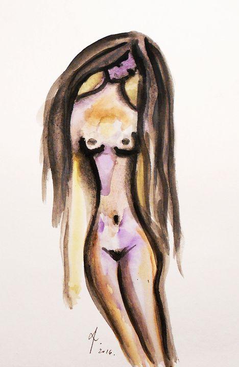 Nude - KristinaValicArt