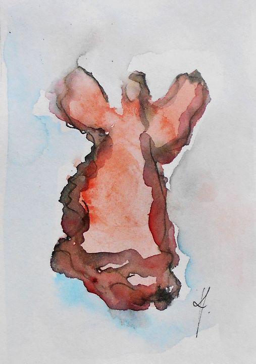 Angel painting - KristinaValicArt