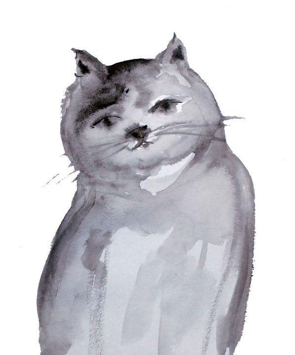 Cat - KristinaValicArt