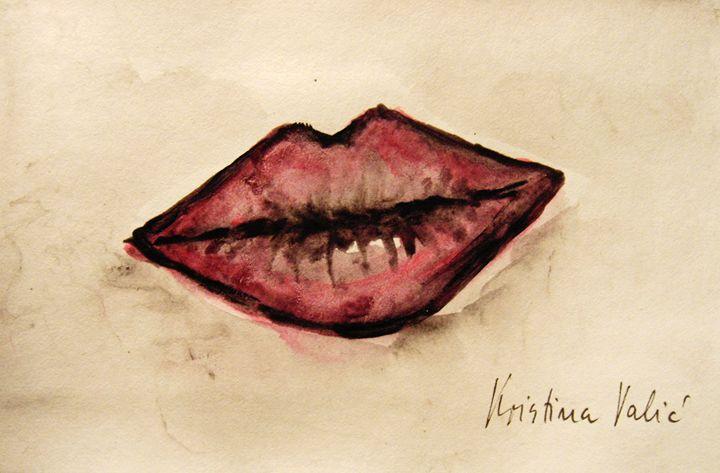 Lips - KristinaValicArt