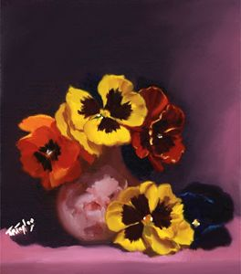 Pansies on the dark Side. - T.Ralph Taylor