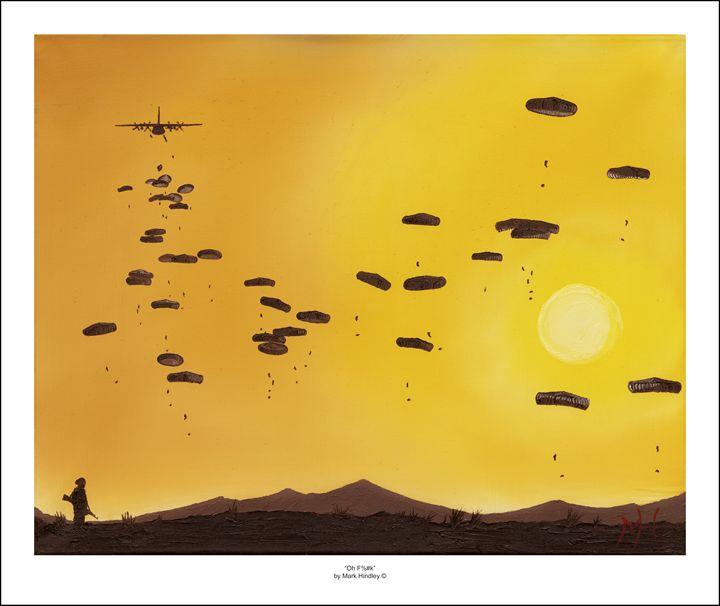 """Oh F%#k"" - Airborne Art"