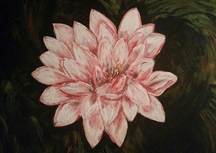 Lotus Flower Painting - Christina Taylor
