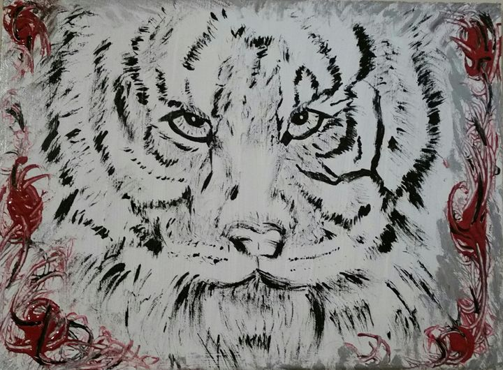 Black & White Tiger - Christina Taylor