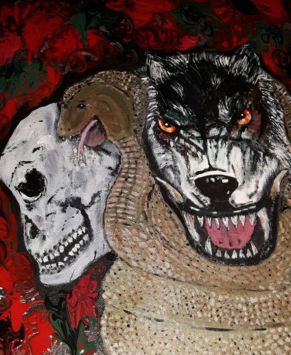 Skull Cobra Wolf - Christina Taylor