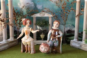 In the summer garden - Elya Yalonetski. Ceramic Miracles