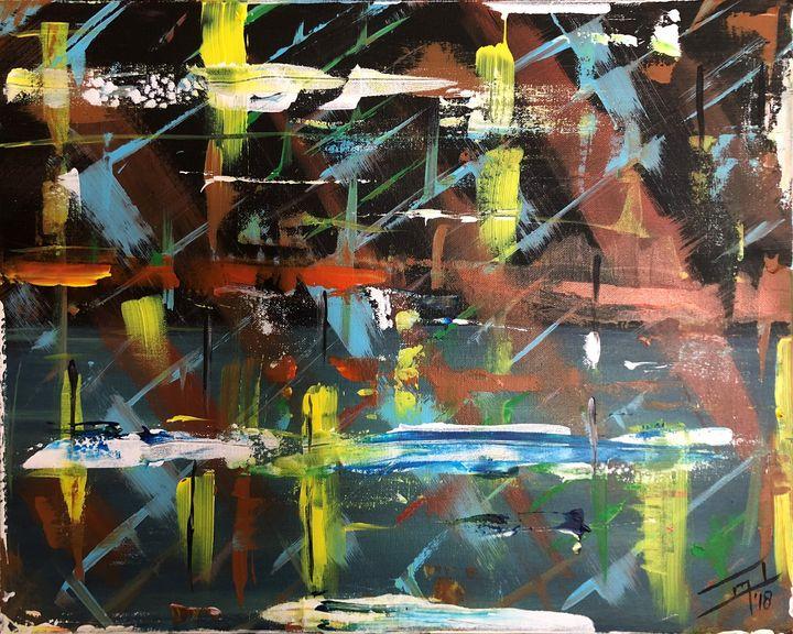 Evening Lake Breeze - Jennifer Lynn - Canadian Artist