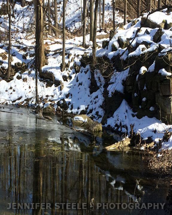 Trail Thaw - Jennifer Steele - Canadian Artist
