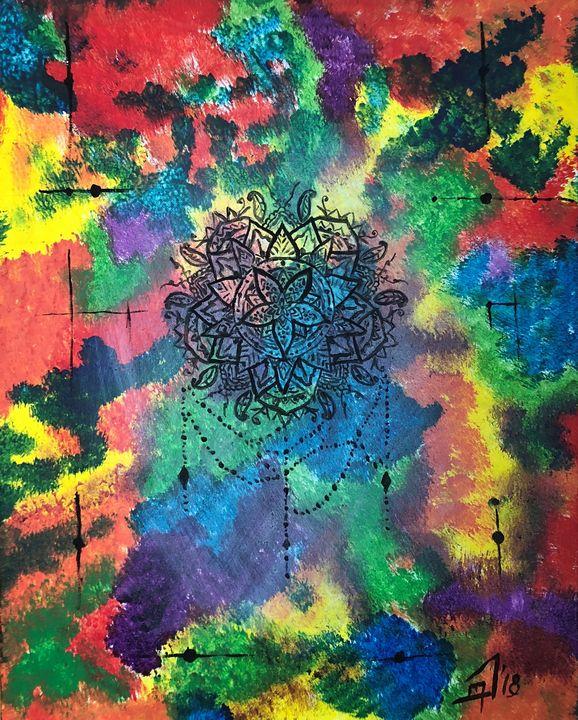 Mandala Spirit - Jennifer Lynn - Canadian Artist