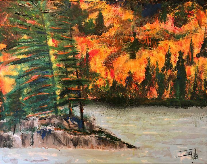 Algonquin Remembered - Jennifer Lynn - Canadian Artist
