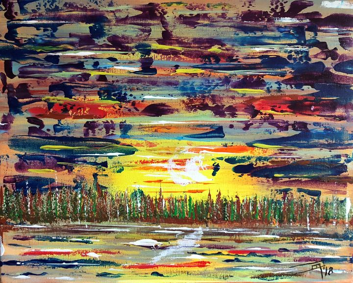 Stolen Sunset Revised - Jennifer Lynn - Canadian Artist