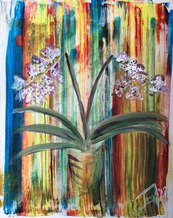 Orchid's Dream - Jennifer Lynn - Canadian Artist